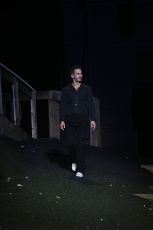 Marc Jacobs takes his final walk as Creative Director at Louis Vuitton's S/S '14 show in Paris.